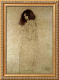 Portrait of a Young Woman, 1896-97 Framed Giclee Print by Gustav Klimt