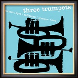 Three Trumpets Framed Photographic Print
