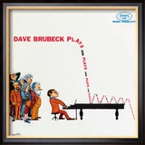 Dave Brubeck - Plays and Plays and Plays Framed Photographic Print