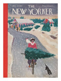 The New Yorker Cover - December 19, 1942 Premium Giclee Print by Garrett Price