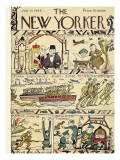 The New Yorker Cover - July 15, 1944 Premium Giclee Print by Rea Irvin