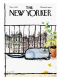 The New Yorker Cover - May 6, 1972 Premium Giclee Print by Ronald Searle
