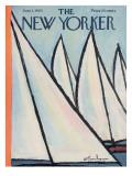 The New Yorker Cover - June 1, 1963 Regular Giclee Print by Abe Birnbaum