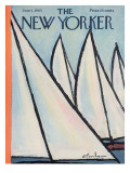 The New Yorker Cover - June 1, 1963 Premium Giclee Print by Abe Birnbaum