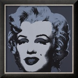 Marilyn Monroe, 1967 (black) Posters by Andy Warhol