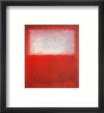 Weiß über Rot Kunstdrucke von Mark Rothko