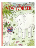 The New Yorker Cover - May 11, 1992 Premium Giclee Print by Danny Shanahan