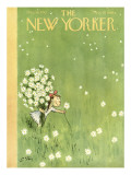 The New Yorker Cover - August 16, 1952 Regular Giclee Print by William Steig
