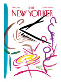 The New Yorker Cover - January 6, 1968 Premium Giclee Print by Abe Birnbaum