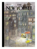 The New Yorker Cover - January 10, 2005 Premium Giclee Print by Jean-Jacques Semp&#233;