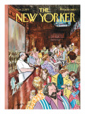 The New Yorker Cover - November 27, 1971 Premium Giclee Print by Charles Saxon