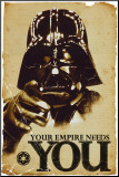 Star Wars, Your Empire Needs You Kunst op hout