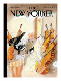 The New Yorker Cover - November 14, 2011 Premium Giclee Print by Jean-Jacques Sempé