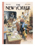 The New Yorker Cover - December 1, 2003 Premium Giclee Print by Edward Sorel