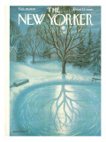 The New Yorker Cover - February 28, 1959 Premium Giclee Print by Edna Eicke