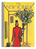 The New Yorker Cover - April 25, 1959 Regular Giclee Print by Abe Birnbaum