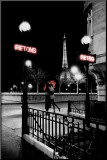 Paris Mounted Print