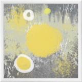 Soft Glow Framed Canvas Print by Erin Clark