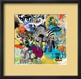 Kaleidoscope (Zebra) Print by Ben Allen