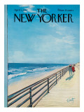 The New Yorker Cover - April 1, 1967 Premium Giclee Print by Arthur Getz