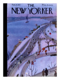 The New Yorker Cover - February 27, 1937 Premium Giclee Print by Adolph K. Kronengold