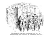 """""""Gentlemen, nothing stands in the way of a final accord except that manage…"""" - New Yorker Cartoon Premium Giclee Print by Alan Dunn"""