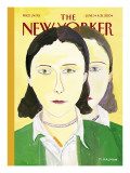 Twice Removed - The New Yorker Cover, June 14, 2004 Regular Giclee Print by Maira Kalman