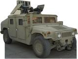 Army Hummer Cardboard Cutouts