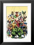Avengers Classics 1 Cover: Hulk Framed Giclee Print by Art Adams