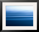 Small Gentle Ripples Move Across the Calm Surface of the Arctic Ocean Framed Photographic Print by Norbert Rosing