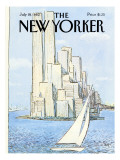 The New Yorker Cover - July 19, 1982 Premium Giclee Print by Arthur Getz