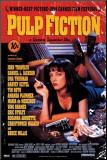 Pulp Fiction Monteret tryk