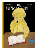 The New Yorker Cover - February 1, 1999 Regular Giclee Print by Maira Kalman
