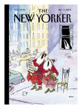 The New Yorker Cover - December 13, 2004 Regular Giclee Print by George Booth