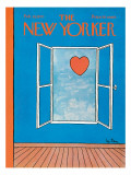 The New Yorker Cover - February 14, 1970 Regular Giclee Print by Pierre LeTan