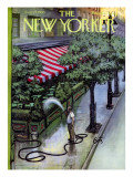 The New Yorker Cover - August 27, 1955 Premium Giclee Print by Arthur Getz