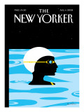 The New Yorker Cover - August 4, 2008 Regular Giclee Print by Kim DeMarco