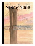 The New Yorker Cover - December 4, 2000 Premium Giclee Print by Jean-Jacques Semp&#233;