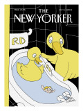 The New Yorker Cover - October 4, 2004 Premium Giclee Print by Gahan Wilson