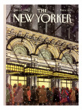 The New Yorker Cover - January 18, 1988 Premium Giclee Print by Roxie Munro