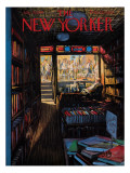 The New Yorker Cover - July 20, 1957 Premium Giclee Print by Arthur Getz