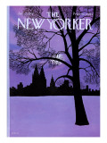 The New Yorker Cover - January 22, 1972 Premium Giclee Print by Charles E. Martin