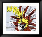 Whaam ! panneau 2 sur 2 du diptyque Affiches par Roy Lichtenstein