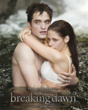 Breaking Dawn-Ed and Bella in Water Photographie