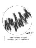 Free-Floating Anxiety--Magnified 200,000,000 Times - New Yorker Cartoon Premium Giclee Print by Mick Stevens