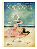 The New Yorker Cover - August 4, 1945 Premium Giclee Print by Mary Petty