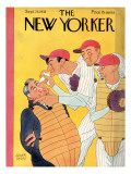 The New Yorker Cover - September 23, 1933 Premium Giclee Print by Abner Dean