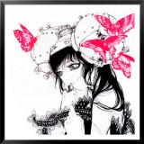 Cho-chan Framed Giclee Print by Camilla D'Errico
