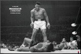 Muhammad Ali vs. Sonny Liston Mounted Print