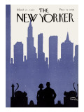 The New Yorker Cover - March 21, 1925 Premium Giclee Print by Carl Fornaro